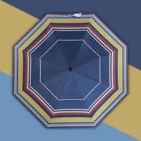 Doppelschicht Falten winddicht Automatischer kleiner Anti-UV-Regenschirm Parasol Unilever Guarda Chuva Outdoor-Produkt BL50UM Q4PX