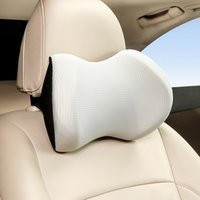 Straight Car Headrest Four Seasons Ice Wire Neck Protection Memory Cotton Pillow Waist Support Suit