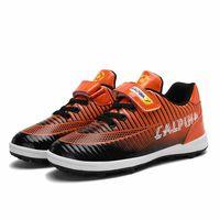 2021 Designer Design Children kids Non-slip Sport Lightweight Breathable Childrens Football Shoes Sports Shoe Factory Direct