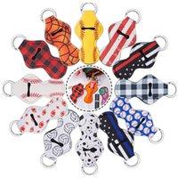 네오프렌 립스틱 키 체인 chapstick 홀더 크리스마스 chapsticks 랩 키 링 슬리브 홀더 73 디자인 파티 호의 231 S2