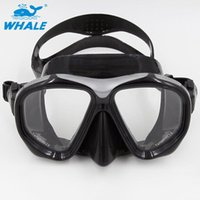Diving Masks WHALE Brand Professional Scuba Adults Goggles Spearfishing Gear Swimming Mask Equipment