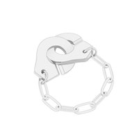 High Quality Stainless Steel Handcuff Ring White Paper Clip ...