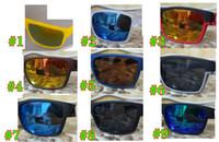 Marca Verano Hombres Bicicleta Vidrio Conducción Gafas de sol Ciclismo Gafas Mujeres Y Hombre Niza Gafas Conducción Playa Gafas 9 Colores Envío Gratis