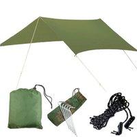 Impermeabile Protezione UV Hammock Tenda a pioggia Tarp Multi Funzione Camping Tarp Beach Tenda Tenda Beach Shade Camping Sunshade Canopy 317 x2