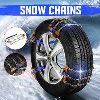 Универсальный стальной грузовик автомобильные колеса шин шины снеговики льда цепи ремень зимние антискользящие транспортные средства внедорожники цепь колеса грязевая дорога