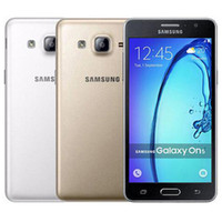 Original recondicionado Samsung Galaxy On5 G5500 Dual Sim 5.0 Polegada Quad Núcleo 1.5GB RAM 8GB ROM 8MP 4G LTE Android Celular Telefone FREE DHL 10PCS