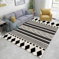 Carpets Non-slip Door Mat Home Decor 2m European Modern Rectangle Carpet Big Area Rug For Bedroom Living Room Kitchen Baths