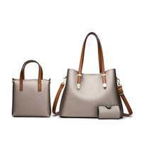Luxurys Bags Branded crossbody Designer Tote Bag Mini Handbag s s 2021 Fashion Women Girls Leather Messenger Shoulder Purse Set of 3