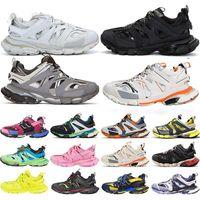 باريس 2020 تيس s المسار الرجال أسود أبيض وردي أورانج الأزرق للنساء الثلاثي s clunky حذاء رياضة الركض مصمم الأحذية الرياضية