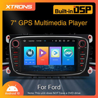 XTRONS 7 pollici Touch Screen Android 10 Auto DVD Player Radio per DSP incorporato Carplay e Split Screen