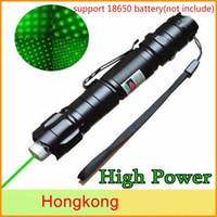 Brand New 1MW 532nm 8000m 8000m Alta potenza Verde Puntatore laser Penna leggera Penna Laker Miser Military Green Laser
