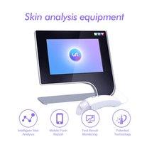 2021 상위 판매 동향 제품 3D 디지털 피부 분석기 휴대용 분석 페이스 케어 머신 스파 클리닉