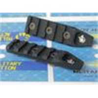 MA 5 فتحات السكك الحديدية - Keymod for Airsoft Urx4 Rail (BK / TAN)