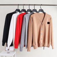 2021 Moda Masculina Plus Size Designer Sweater Senhoras Slim Casal Casual Bordado Bordado Outono / Inverno Multicolor Multicolor Opcional Cardigan Jacket