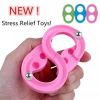 Stress Relief Fidget Toy 88 Track Decompression Handheld Induction System Trains Spinner Squishy AntiStress Toys Adult Child Funny Reliver Sensory 3 Colors
