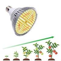 Full Spectrum 20W 184LED Plant Grow Light Bulbs Aluminum E27 Lamp Indoor Veg Cultivo Growth Hydro Sunlight Phyto