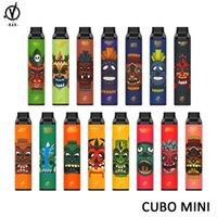 VBAR CUBO MINI 1500 Puffs Disposable E Cigarette Vape Kit With 4.5ml Pre-filled 700mAh AIO Pod Device vs GEEK BAR 3000