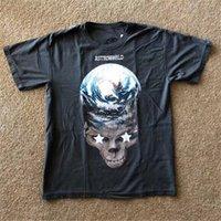 2021 NEUER RAVIS SCOTT PARAR TRYNA SER DEUS T-Shirt Männer 1: 1 Alta Qualidade doppelseitige Tragen T-Shirt E9SA