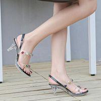 2020 حار جديد اللون الماس النساء الصنادل الصنادل عالية الكعب 6.5 متر سيدة حزب اللباس أحذية الصيف الإناث حذاء الزفاف منصة الصنادل نحن f9vu #