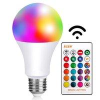 Ampoules changeant de couleur LED ampoule de lumière RVB DIMMABLE E27 VIS PLAYONS DE BASE DE VIS DE VIS, 16 COULEURS, GRAND POUR LA MAISON, STOPE, FÊTE