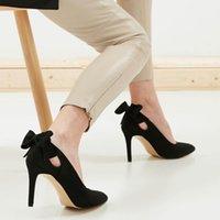Mio Gusto Eliza, Couleurs Noir / Rouge, Huit centimètres Hauteur de saut d'une haute qualité Sexy Stiletto Fashions Femme F3Z6