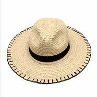 Wide Brim Hats Summer Fashion Handmade Raffia Fedora For Unisex Cool Nice Beautiful Cute High Quality Men And Women