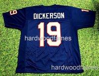 저렴한 사용자 정의 Eric Dickerson Southern Methingist Mustangs Jersey Smu Stitched 모든 이름 번호 추가