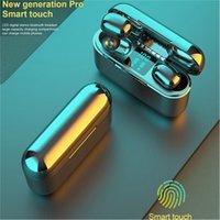A13 Pro Kablosuz Bluetooth Kulaklık Kulakiçi Stereo İzle Oyun Kulaklık Akıllı Telefon için LED Güç Ekranlı