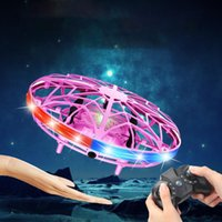 Mini Smart Flying Drone Kids Hand Motion Control UFO Flying ...