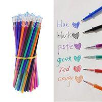 Gel Pens 3 8Colors Magic Erasable Pen Set Washable Handle 11cm Length Refills School Office Writing Stationery Supplies