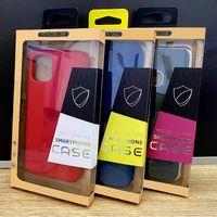 Personalisierte benutzerdefinierte Logo-Einzelhandel-Verpackungsbox Karft Papierverpackungsbox für iPhone 8 xs 12 Pro max Telefon Fallabdeckung