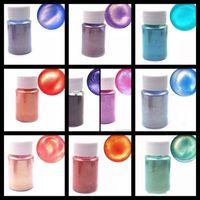 Tırnak Glitter 10g Aurora İnci Pigment Mika Toz Pigmentler Senfoni Renklendirici DIY Sanat Sedefli
