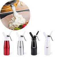 Dispensador de creme de creme profissional alumínio creme fresco whipper espuma fabricante espuma ferramentas de sobremesa 500ml jkkd2103