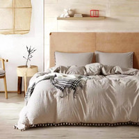 Home textile three piece set of solid color bedding Quilt