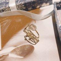 Lyxig mode klassisk designer sterling silver kärlek ring smycken högkvalitativa bröllopsgåvor för kvinnor bra trevligt