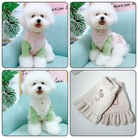 Dog Apparel Cute Dress Winter Pet Harness Coat Outfit Cat Chihuahua Yorkie Clothes Yorkshire Poodle Pomeranian Schnauzer Costume