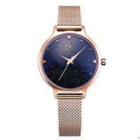 Top NGKE 26mm Fashion Elegant Quarts Women Watch Watches Gold Gold Strap Orologio da polso femminile per orologi da donna Abito orologi di alta qualità Movimento al quarzo di alta qualità