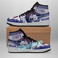 Creative DIY Customized Basketball Shoes 2021 Top Quality High Mid Sports Sneakers 1 1s Anime Cartoon Hip Hop Street Men Women Sneaker Trainers 36-47