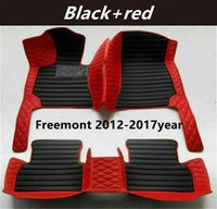 AAA FIAT Freemont 2012-2017year Custom Car Splicing Floor Mats Waterproof Leather Wear-resistant Non-toxic Tasteless and Environmentally Friendly Foot Mats
