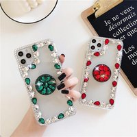 Cell Phone Pouches Diamond Case For Samsung Galaxy A70 A50 A30 A21S A51 A71 A10 S20 FE S10 Note 20 Ultra 10 Plus Soft Bling Capa