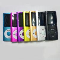 لاعب ضئيلة 4th 1.8 بوصة الشاشة 4th mp3 mp4 لاعب مع فتحة بطاقة راديو fm مسجل الصوت المتكلم 9 ألوان كابلات USB + سماعات + صناديق البيع بالتجزئة
