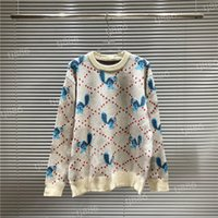 Дизайнер Свитер Мужчины Женщины Старший Шерсть Классический Досуг Мультиколор Осень Зима Теплая Удобное Пальто Топ3 Высокое Качество Пуловеры