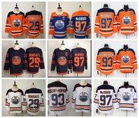 Herren Edmonton Eilers Jersey 29 Leon Draisaitl Jersey 97 Connor McDavid 93 Ryan Nugent-Hopkins Fanatics Branded Breakaway Hockey Jersey