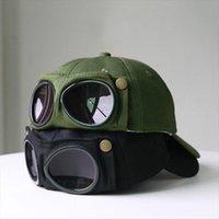 Aviator Şapka Yaz Kişilik Gözlük Beyzbol Kap Kadın Unisex Güneş Gözlüğü Erkek BeyzbolCap Boys
