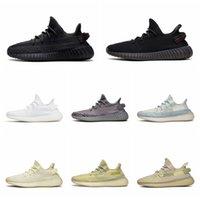 Adidas Yeezy BOOST 350 V2 2020 Tereyağı Susame 35 V2 Statik Ayakkabı Erkek Ayakkabı Sneakers Mavi Renk Tonu Üçlü Beyaz Bayan Ayakkabı Zebre Bred Eğitmenler Boyutu36-45 WK07