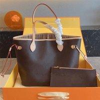 M40156 디자이너 Petite Malle 핸드백 럭셔리 메신저 가방 여성 가죽 어깨 크로스 바디 지갑 + 작은 가방 2 개 캐주얼