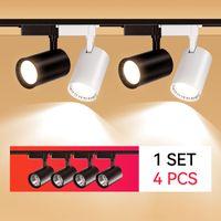COB LED LED Light 220V Rail Spotlight 12W 20W 30W 40W Eclairage d'intérieur Eclairage à l'intérieur Lampe murale pour vêtements de vêtements