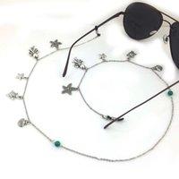 10 pieces of fine copper chain starfish Shell Sunglasses glasses accessories
