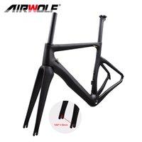 Airwolf Carbon Fiber Bikes Frame Road Bicycle Frames Fork Seatpost Frameset BSA 700*25C V Brake Quick Release XS S M L XL size 2 years warranty