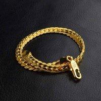 5 ملليمتر الأزياء الفاخرة رجل إمرأة مجوهرات 18 كيلو الذهب مطلي سلسلة قلادة الهيب هوب سلاسل ميامي مصمم القلائد الهدايا الملحقات 430 Q2